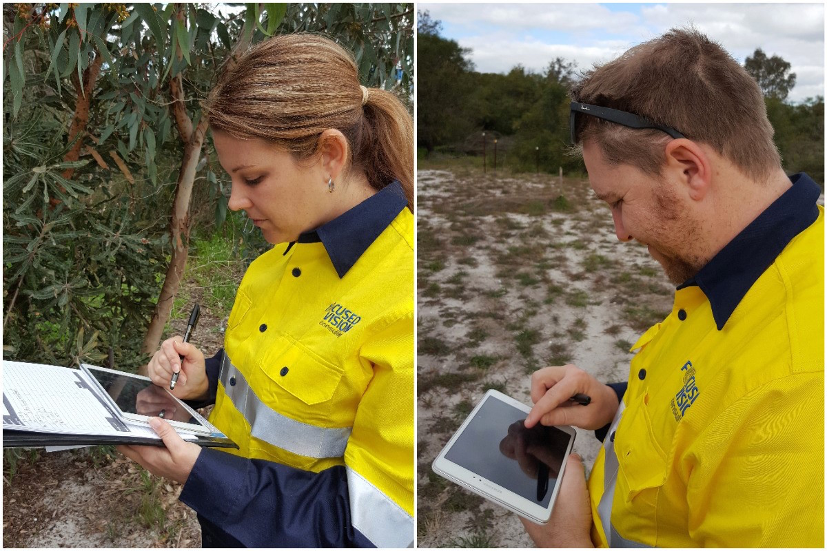 tablet use in field